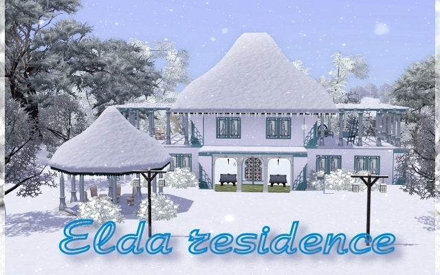 Sims 3 Residential lot Residence Elda by ihelen at ihelensims.org.ru