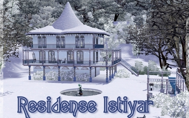 Sims 3 Residential lot Residence Istiyar by ihelen at ihelensims.org.ru