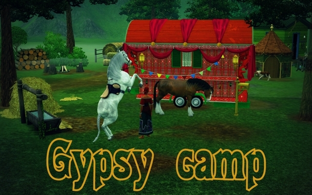 Sims 3 Community lot Gypsy camp by ihelen at ihelensims.org.ru