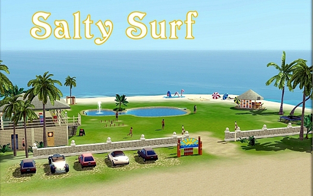 Sims 3 Community lot Salty Surf by ihelen at ihelensims.org.ru