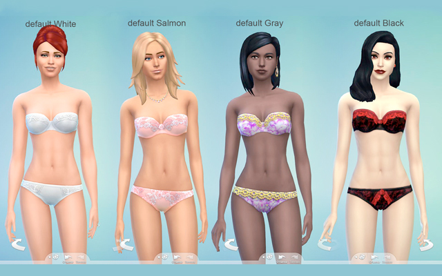 Sims 4 Recolors yf sexy recolor by Gelcha at ihelensims.org.ru