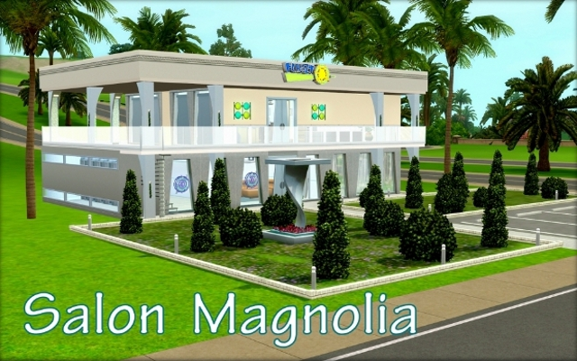 Sims 3 Community lot Salon Magnolia by ihelen at ihelensims.org.ru