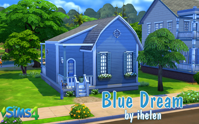 Sims 4 Residential lot Blue Dream by ihelen at ihelensims.org.ru