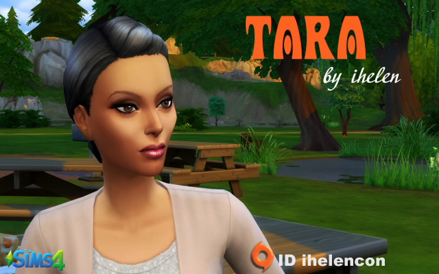 Sims 4 Sims model Tara by ihelen at ihelensims.org.ru