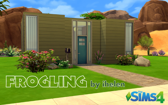 Sims 4 Residential lot Frogling by ihelen at ihelensims.org.ru