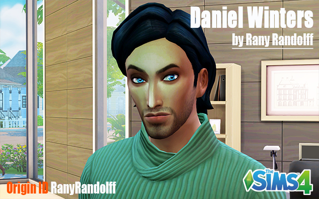 Sims 4 Sims model Daniel Winters by Rany Randolff at ihelensims.org.ru