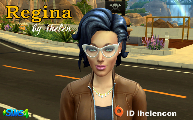 Sims 4 Sims model Regina by ihelen at ihelensims.org.ru