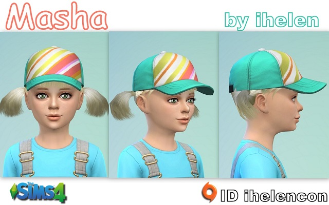 Sims 4 Sims model Masha by ihelen at ihelensims.org.ru
