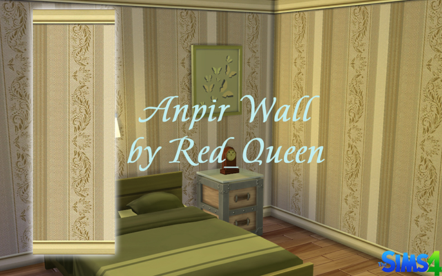 Sims 4 Build/Walls/Floors Anpir Wall by Red_Queen at ihelensims.org.ru