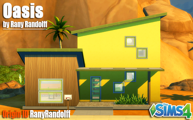 Sims 4 Residential lot Oasis by Rany_Randolff at ihelensims.org.ru