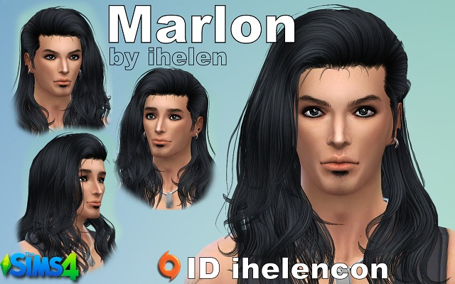 Sims 4 Sims model Marlon by ihelen at ihelensims.org.ru