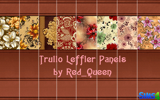 Sims 4 Build/Walls/Floors Trullo Leffler Panel by Red_Queen at ihelensims.org.ru