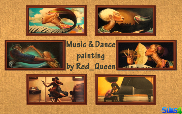 Sims 4 Decor Music & Dance by Red_Queen at ihelensims.org.ru