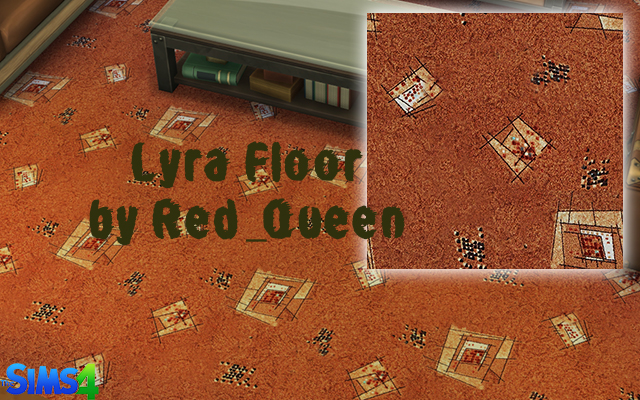 Sims 4 Build/Walls/Floors Lyra Floor by Red_Queen at ihelensims.org.ru