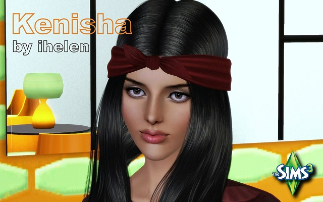 Sims 3 Sims model Kenisha by ihelen at ihelensims.org.ru