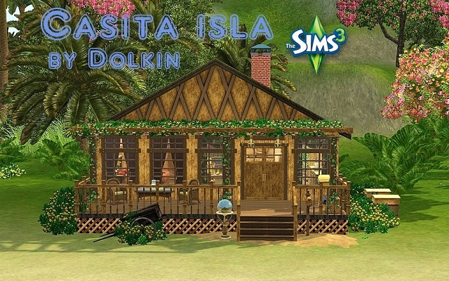 Sims 3 Residential lot Casita de Isla by Dolkin at ihelensims.org.ru
