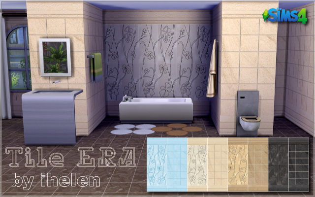Sims 4 Build/Walls/Floors Tile ERA by ihelen at ihelensims.org.ru