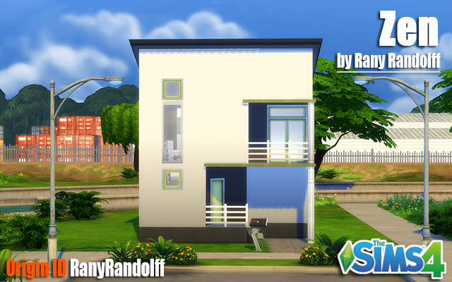 Sims 4 Residential lot Zen by Rany_Randolff at ihelensims.org.ru
