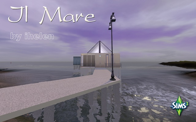 Sims 3 Residential lot Il Mare by ihelen at ihelensims.org.ru