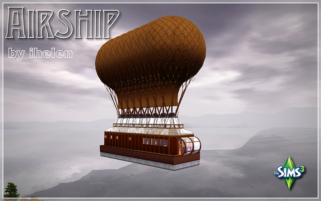 Sims 3 Community lot Airship by ihelen at ihelensims.org.ru
