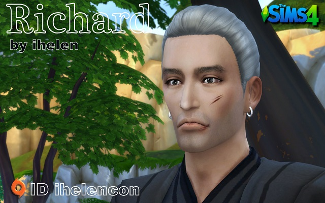 Sims 4 Sims model Richard by ihelen at ihelensims.org.ru