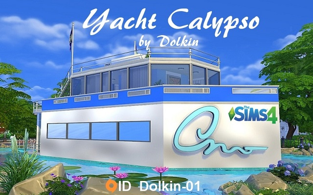 Sims 4 Residential lot Yacht Calypso by Dolkin at ihelensims.org.ru