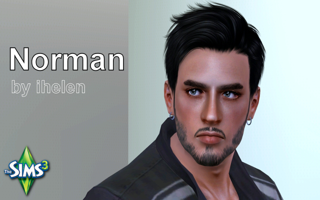 Sims 3 Sims model Norman by ihelen at ihelensims.org.ru