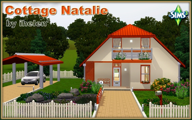 Sims 3 Residential lot Cottage Natalie by ihelen at ihelensims.org.ru