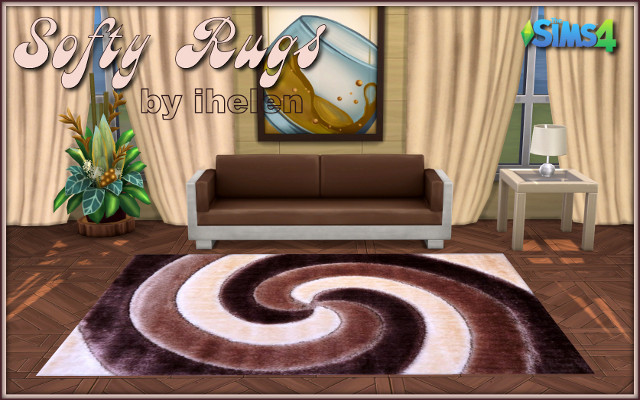 Sims 4 Decor Softy Rugs by ihelen at ihelensims.org.ru