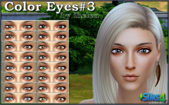 Sims 4 Makeup Color Eyes #3 by ihelen at ihelensims.org.ru