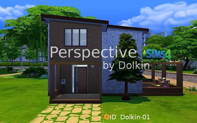 Sims 4 Residential lot Perspective by Dolkin at ihelensims.org.ru