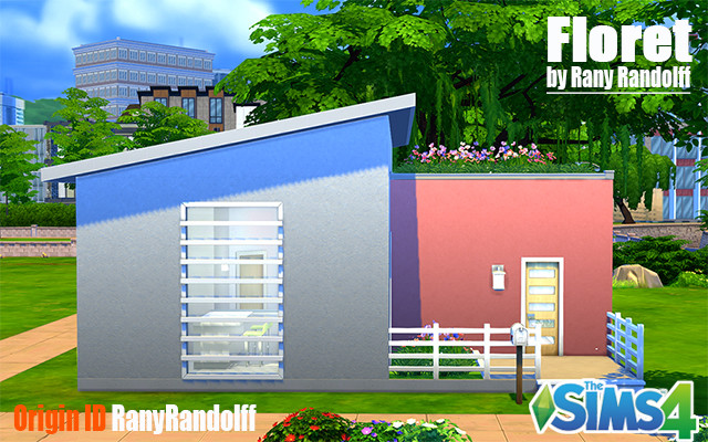 Sims 4 Residential lot Floret by Rany_Randolff at ihelensims.org.ru