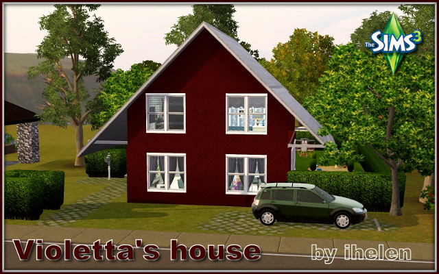 Sims 3 Residential lot Violetta's house by ihelen at ihelensims.org.ru