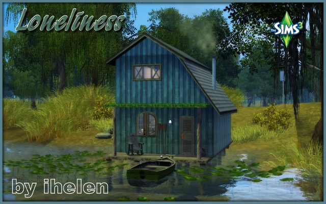 Sims 3 Residential lot Loneliness by ihelen at ihelensims.org.ru