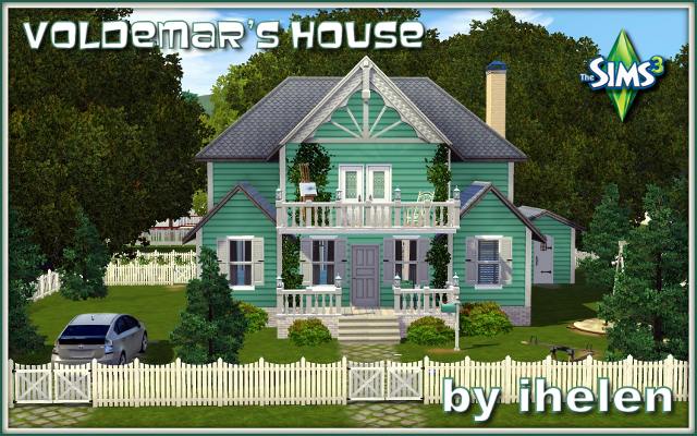 Sims 3 Residential lot Voldemar's House by ihelen at ihelensims.org.ru