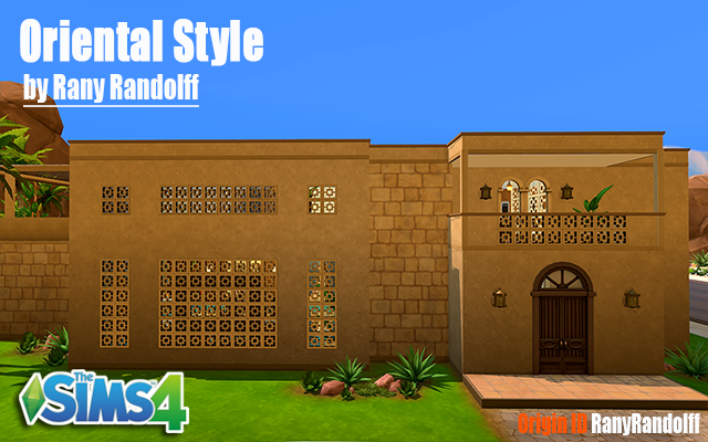Sims 4 Residential lot Oriental Style by Rany Randolff at ihelensims.org.ru