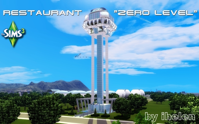 Sims 3 Community lot Restaurant Zero Level by ihelen at ihelensims.org.ru