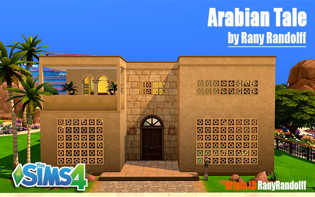 Sims 4 Residential lot Arabian Tale by Rany Raydolff at ihelensims.org.ru