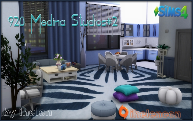 Sims 4 Rooms 920 Medina Studios#2 by ihelen at ihelensims.org.ru