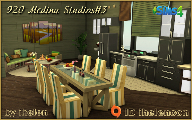 Sims 4 Rooms 920 Medina Studios#3 by ihelen at ihelensims.org.ru