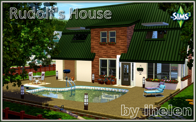 Sims 3 Residential lot Rudolf's House by ihelen at ihelensims.org.ru