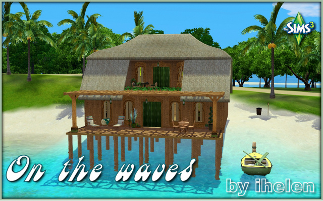 Sims 3 Residential lot On the waves_by_ihelen at ihelensims.org.ru
