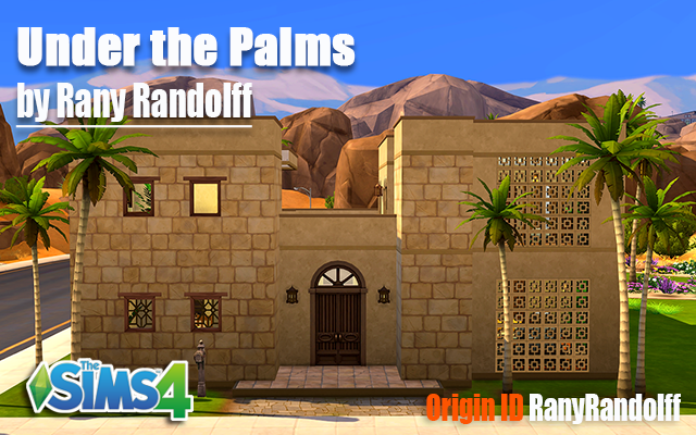 Sims 4 Residential lot Under the Palms by Rany Randolff at ihelensims.org.ru