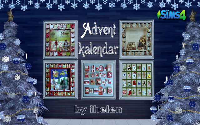 Sims 4 Decor Advent-kalendar#1 by ihelen at ihelensims.org.ru