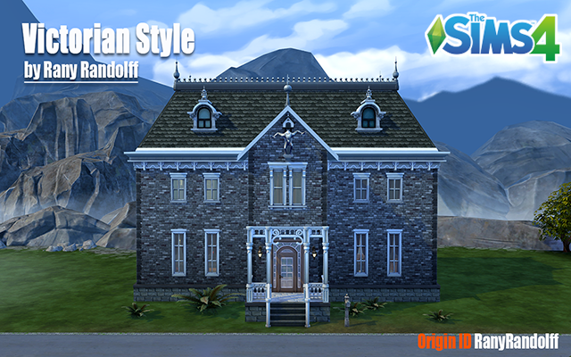 Sims 4 Residential lot Victorian Style by Rany Randolff at ihelensims.org.ru