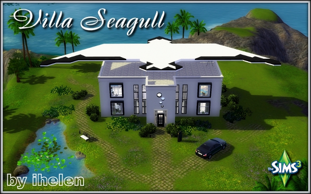 Sims 3 Residential lot Villa Seagull by ihelen at ihelensims.org.ru