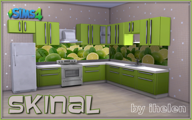 Sims 4 Decor Skinal by ihelen at ihelensims.org.ru