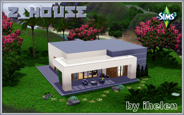 Sims 3 Residential lot Z_House by ihelen at ihelensims.org.ru