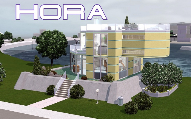 Residential lot Hora by akulina at ihelensims.org.ru