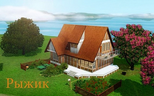 Residential lot Сarroty house by Alalilla at ihelensims.org.ru